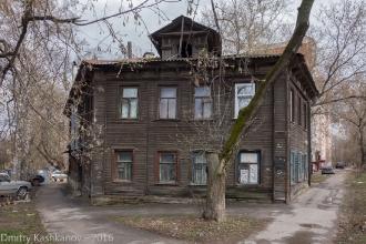 Дом 230 по улице Горького в Нижнем Новгороде. Фото