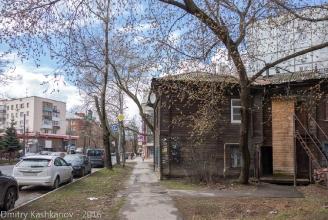 Угол дома 230 по ул. Горького. Фото