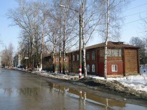 Улица Трудовая. Поселок Неклюдово. Борский район Нижегородской области
