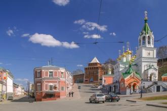 Кожевенная улица и Ивановский съезд