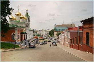 Ивановский съезд. Спуск от Ивановской башни Нижегородского Кремля