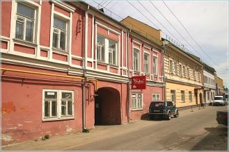 Кожевенная улица Старинные здания. Фото Нижнего Новгорода