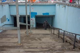 Подземный переход на площади Лядова Нижнего Новгорода