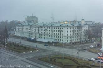 Фото Площади Лядова. Студенческое общежитие НГТУ №1