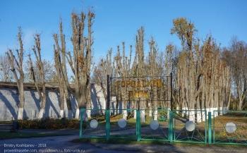 Калининградская область. Правдинск. Городской парк. Осень