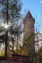 Калининградская область. Правдинск. Немецкая водонапорная башня
