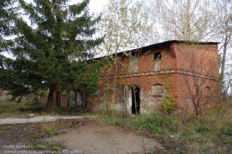 Правдинск. Калининградская область. Заброшенный немецкий дом