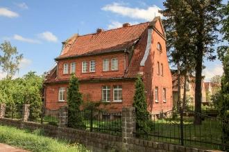 Старинные дома на улице Кутузова