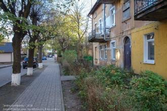 Зеленоградск. Улица Ткаченко. Старые немецкие дома