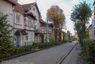 Зеленоградск. Улица Балтийская. Старые немецкие дома