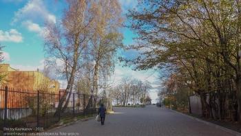 Осень в Зеленоградске. Дорога к набережной