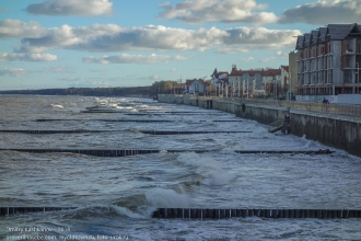 Набережная Зеленоградска. Балтийское море