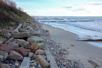 Зеленоградский пляж. Берег Балтийского моря