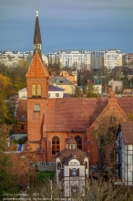 Зеленоградск. Спасская церковь и Домик ангелов