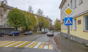Багратионовск. Улица Багратиона