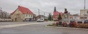 Багратионовск. Городская площадь