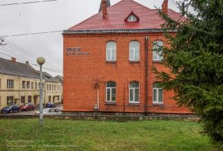 Багратионовск. Городская площадь. Музей истории края