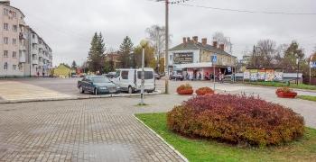Багратионовск. Городская площадь. Автостанция