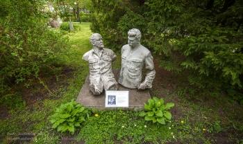 Ленин и Сталин в Горках. Дом-музей Германа Брахерта. Светлогорск