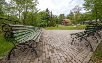Парк у дома Германа Брахерта. Светлогорск