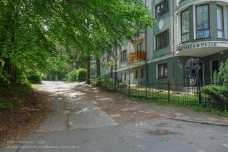 Улица Горького. Светлогорск Калининградской области