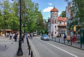 Улица Ленина. Светлогорск. Калининградская область
