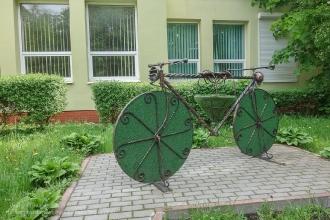 Велосипед у Туристско-информационного центра Светлогорска