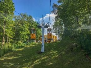 Канатная дорога. Светлогорск, Калининградская область