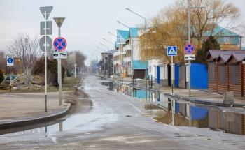 Ейск. Улица Пляжная. Зимнее фото