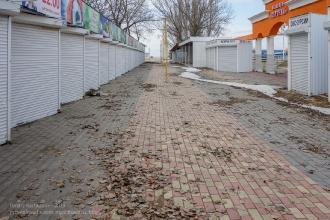 Городской пляж Ейска. Зимнее фото
