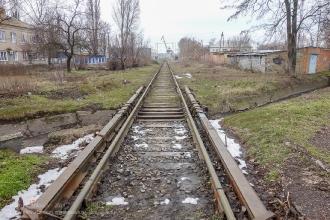 Ейск. Железная дорога в морской порт