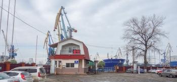 Ейский морской порт. Въезд