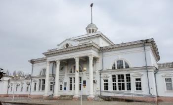 Ейский железнодорожный вокзал