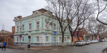 Ейск. Перекресток улиц Ленина и Советов