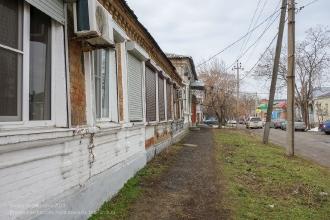 Ейск. Старые дома на улице Кропоткинской