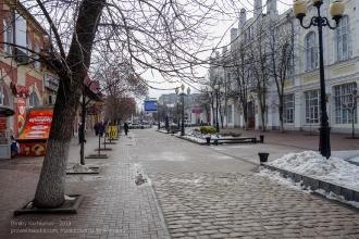Ейск. Улица Свердлова. Зимнее фото