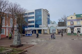 Санаторий Ейск. Перекресток улиц Ленина и Свердлова