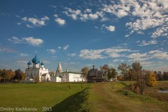 Суздальский Кремль. Вид на Рождественский собор