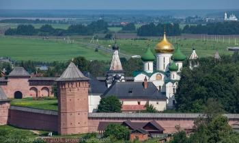 Спасо-Ефимьев монастырь и дорога на Гаврилов Посад