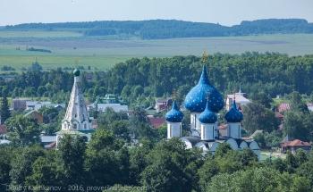Купол Собора Рождества Богородицы. Суздаль. Фото