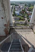 Преподобенская колокольня. Вид со звонницы