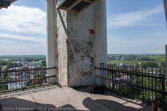 На смотровой площадке Преподобенской колокольни в Суздале