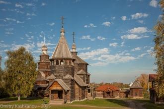 Воскресенская церковь. Деревянная церковь