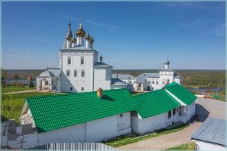 Николо-Троицкий мужской монастырь. Гороховец. Вид с вала