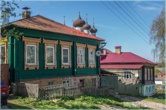 Деревянные дома на улице Советской. Фото Гороховца