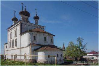 Город Гороховец. Воскресенская церковь. Фото