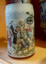 Пивная кружка XIX века. Бывшая Восточная Пруссия