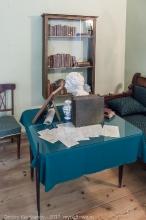 Фотография рабочего кабинета А.С.Пушкина в Большом Болдино