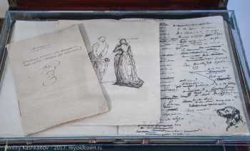 Фото рукописи Пушкина. Анджело
