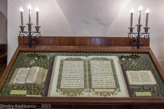 Псалтырь, Евангелие, Скрижаль. Музей старинных книг в Суздале. Фото 2015 года